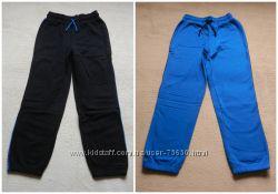 Теплые штаны на флисе для мальчика, две расцветки, размер рост 152