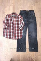 Рубашки, тениски мальчику рост 146 152