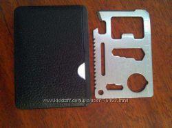 Кредитная карточка-мультитул