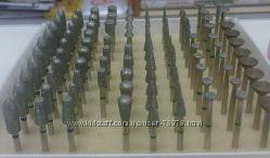 Фрезы , насадки алмазные для аппаратного маникюра