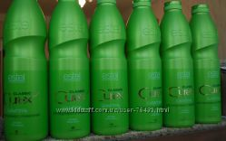 Литровый шампунь увлажнение и питание для всех типов волоc ESTEL CUREX