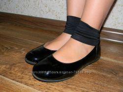 Лаковые туфельки BRASKA для школы 31 р-р