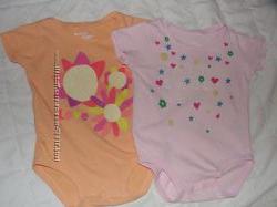 Шикарный летний гардеробчик для маленькой модницы 6- 9 месяцев