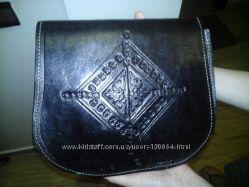 Кожаные сумки кросс боди из Марокко
