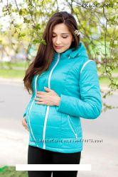 Для беременных куртки. 3в1 В наличии 48 размер
