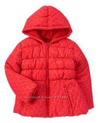 Красивая зимняя куртка CRAZY8 на 5-6лет, можно с 4х