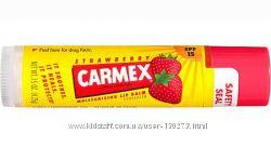 Carmex Strawberry Flavor SPF 15 Moisturizing Lip Balm Stick