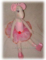 Анжелина - балерина мышка ручной работы