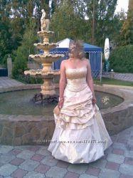 Платье - корсет, на свадьбу или выпускной