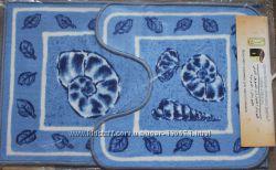 Наборы ковриков в ванную, на резиновой основе, Египет