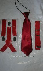 Набор ремень  подтяжки  бабочка или галстук