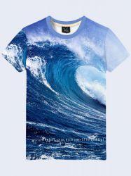 Оригинальные мужские футболки с 3D рисунком. Большой выбор