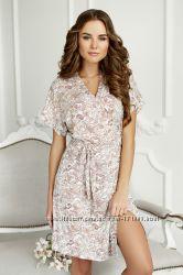 Красивый и приятный к телу халат от Anabel Arto 6704. Разные цвета