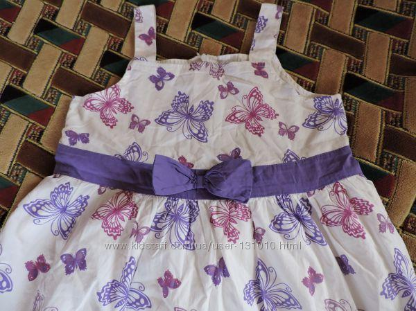 Платье в бабочки-колготки в подарок