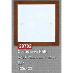 Светильник Vesta Light 29702 НББ 460 Вт Е27 420x420 Венге