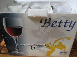 Новые Бокалы для вина, 6 шт , 195 мл Bohemia