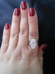 Серебряное кольцо с накладками золота Юлия