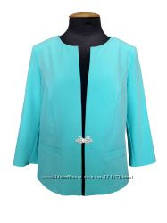 Женский летний пиджак Моника до 58 размера