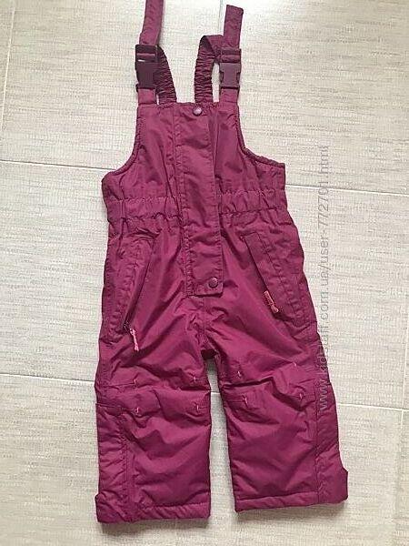 Полукомбинезон, штаны лыжные Impidimpi. Германия. 74/80