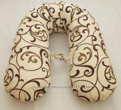 Подушка для беременных Бумеранг Grasha  и наволочка Разные цвета
