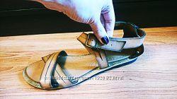 Кожаные сандали Сlarks