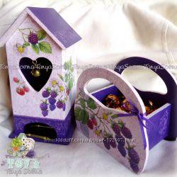 Чайный набор, Чайный домик, конфетница