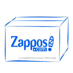 zappos 5комиссия Одежда Обувь Брендовая Америка