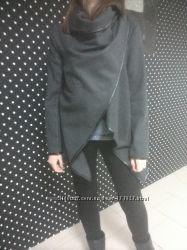 В наличии модные пальто тёмно-серого цвета