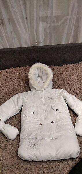 Детский зимний кобинезон тройка