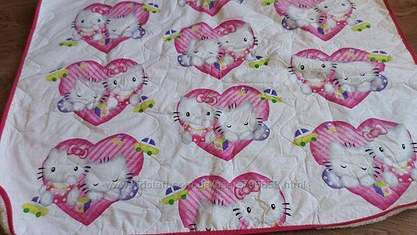 Одеяло детское шерстяное двустороннее 105х140 теплое Украина