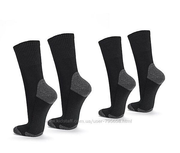 Термоноски носки теплые с махровой утепленной стопой 35-38-40 Tchibo