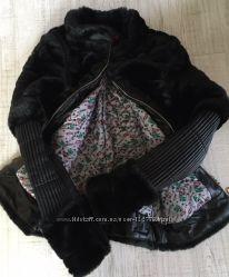 Куртка осеньвесна, кожзамискуственный мех