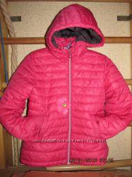 Розовая курточка H&M. Размер XS-S 42-44. По бирке 11-12 лет.