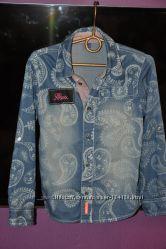 Умопомрачительная рубашка для девочки фирмы Mexx