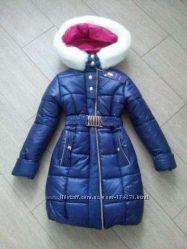 Зимнее пальто девочка 32-42р. - без минималок
