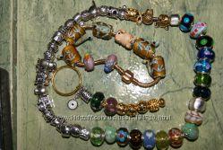 Очень красивые шармы для браслетов Пандора.