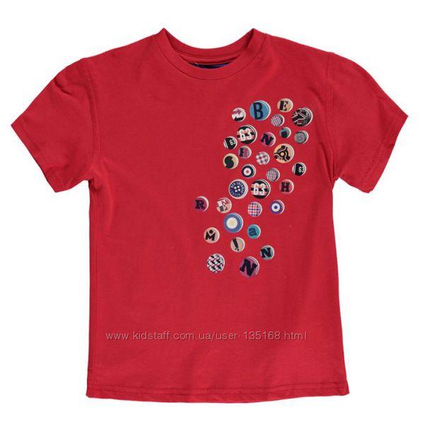 Детская футболка Ben Sherman 69T Short Sleeve TShirt Junior Ash