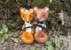 Статуэтки, фигурки на свадебный торт