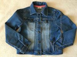 Джинсовая куртка на девочку