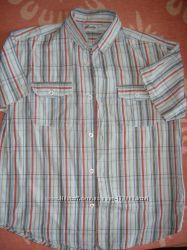 Рубашечки с коротким рукавом, рост 146, 152-156