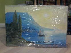 Продам картину холст, масло, крымский пейзаж