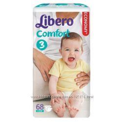 Либеро Libero подгузники, трусики-подгузники  Up&Go и Comfort доставка,