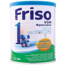 Молочная детская смесь Фрисовом 1, 2,  Friso