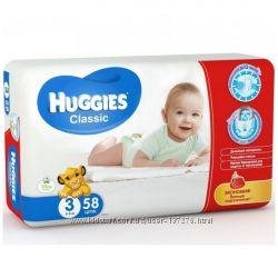 Подгузники Huggies Classic-Уверенность в сухости кожи малыша