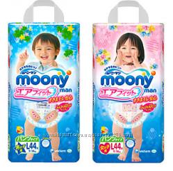 Японские Трусики-подгузники Муни Moony  мальчик и девочка Доставка