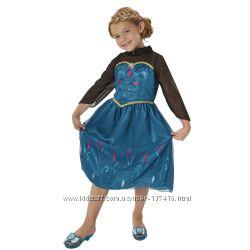 Карнавальный костюм Платье Анны  Коронация Холодное Сердце Disney