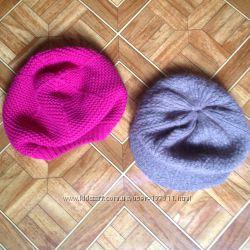 Наши осенние шапочки-береты Okaidi для девочки 4-5лет