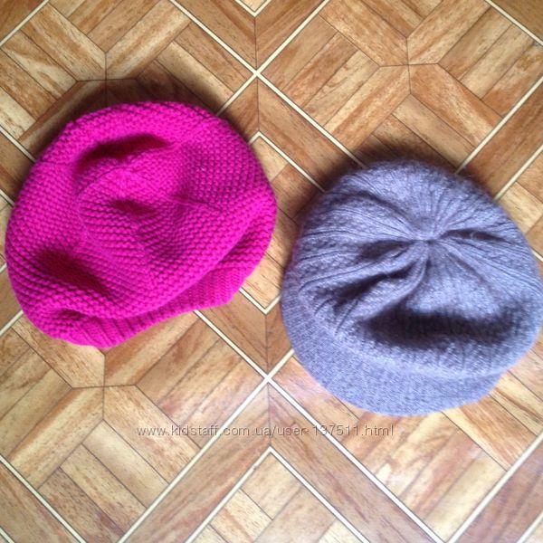 Наши шапочки-береты Okaidi для девочки 4-5лет