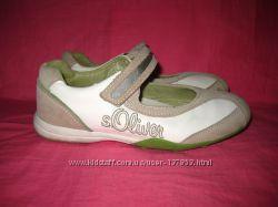 Кожаные туфли s. Oliver - 34 размер