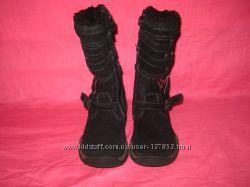 Демисезонные кожаные сапожки Baren Schuhe - 27 размер